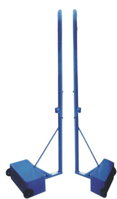 移动式排球柱