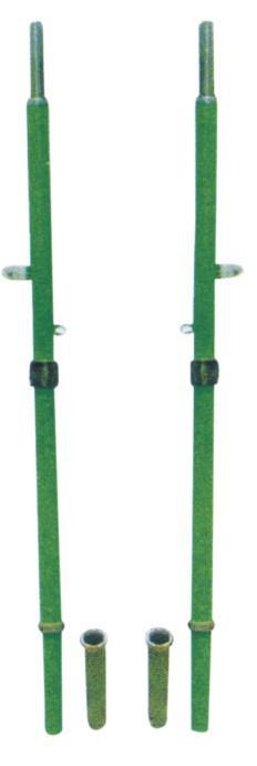 直插式排球柱