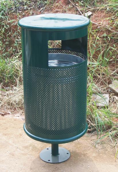 铁质垃圾桶