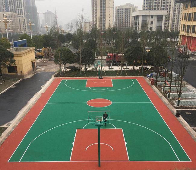 江津区滨江新城消防队myball迈博体育平台app篮球场