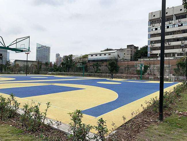 重庆滨江实验小学myball迈博体育平台app篮球场